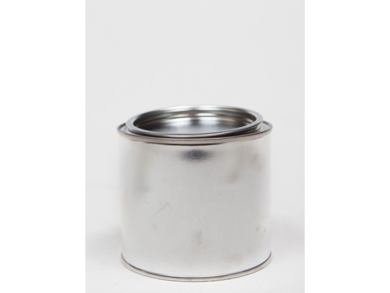 METAL container with lid 500 ml