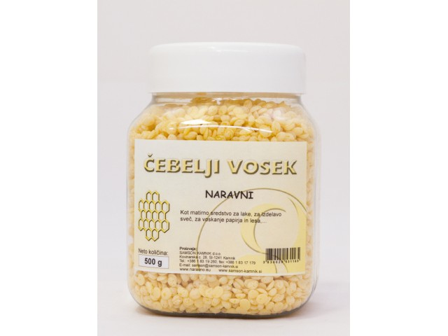 BEESWAX granules 500 g