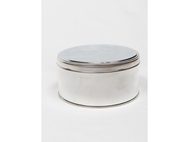 METAL tin with lid 500 ml