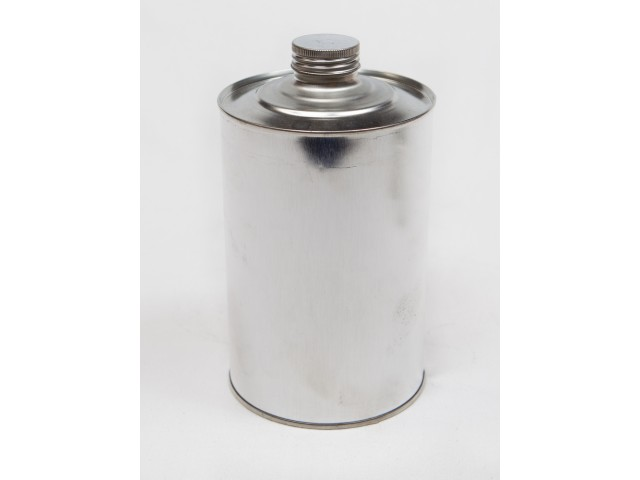 METAL container with screw on lid 1000 ml