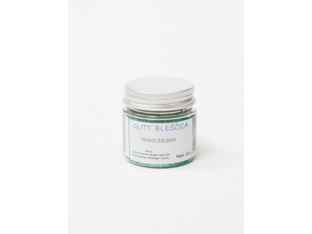 EFFECT GLITTER Deep green 20 g