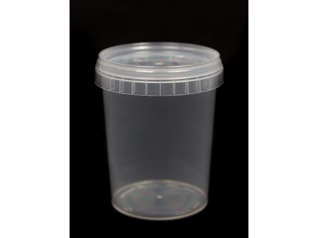 PP container with lid 400 ml