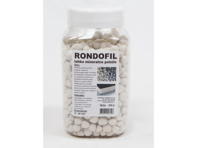RONDOFIL light-weight mineral filler 8-16 mm 200 g