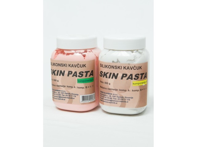 Skin safe Silicone rubber SKIN PASTE 500 g   500 g