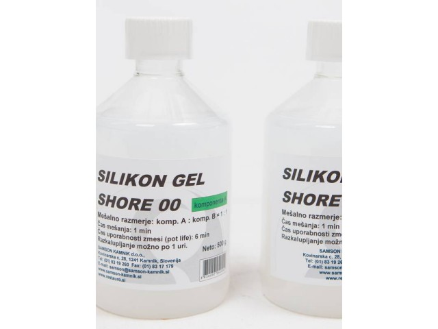 Silicone gel SHORE 00 500 g   500 g