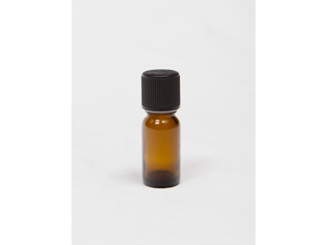 BROWN BOTTLE 10 ml with lid