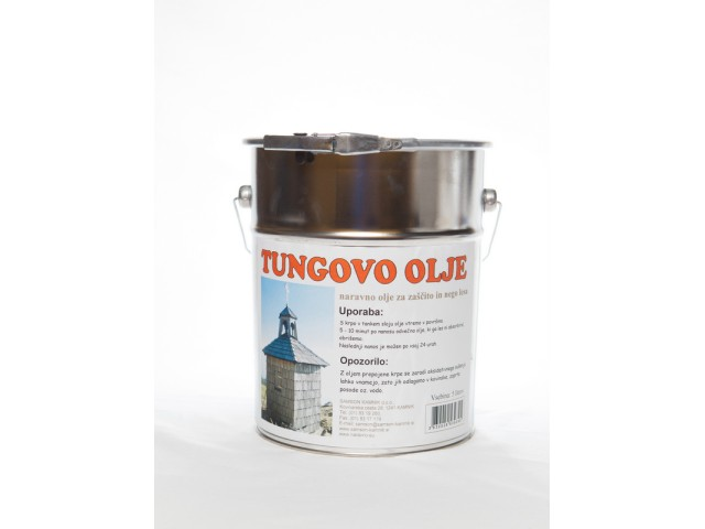 TUNG OIL natural oil finish 5 l