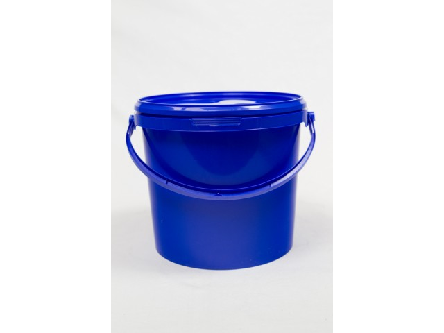 PP bucket with lid 5 l