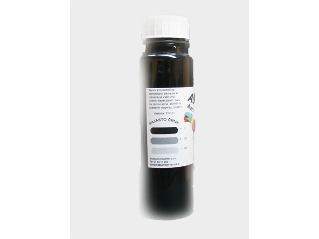 ALEGRO Carbon black 250 ml