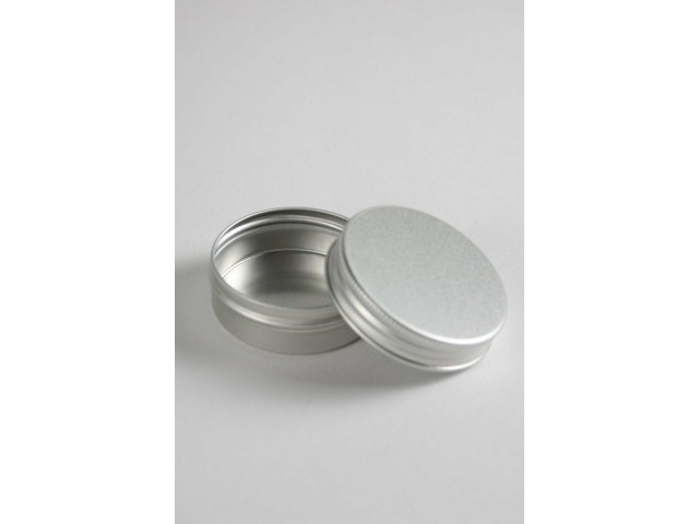 ALU tin with screw on lid 10 ml   (10 pieces)