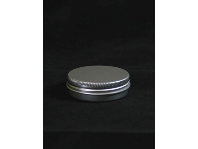 ALU tin with screw on lid 25 ml   (10 pieces)