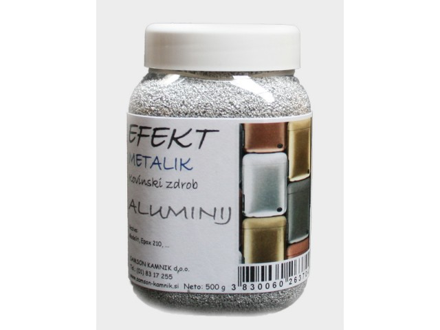 EFFECT METALLIC Aluminium grain 500 g