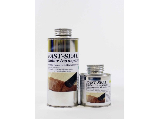 FAST SEAL amber transparent