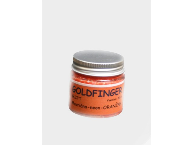 GOLDFINGER GLITT Rainbow neon orange 50 ml