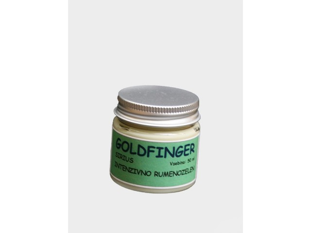 GOLDFINGER SIRIUS Intensive yellow green 50 ml