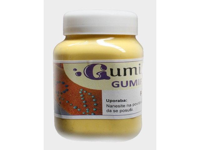 GUMMYFORM YELLOW latex gel   1 l