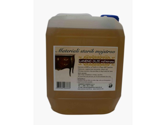 LINSEED OIL refined 10 l