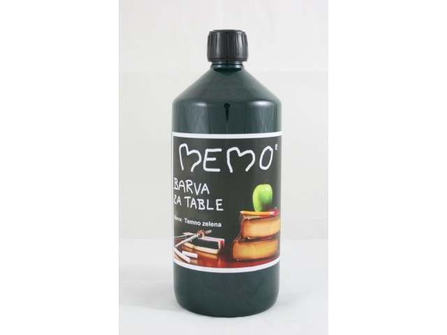 MEMO BLACKBOARD PAINT Dark green 1 l
