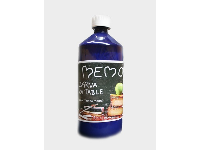 MEMO BLACKBOARD PAINT Dark blue 1 l