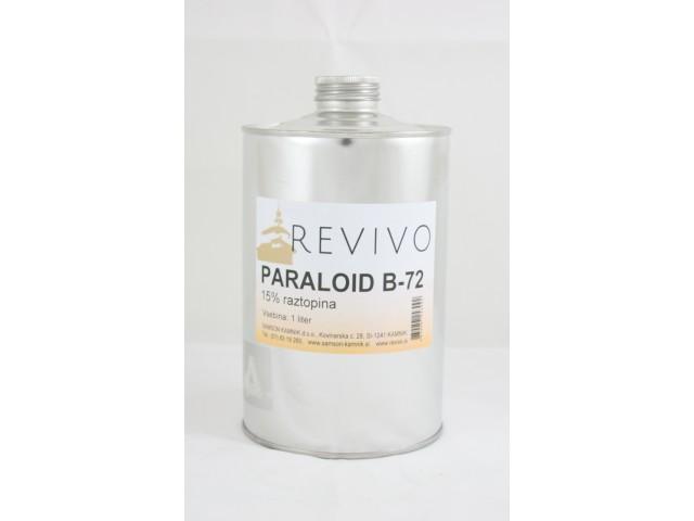 PARALOID B 72 acrylic resin in ethyl acetate, 15 % 1 l
