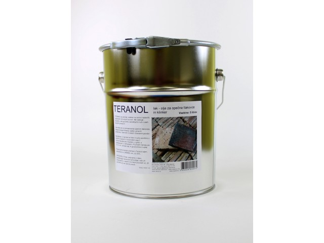 TERANOL hard-drying oil for terracotta tiles 5l
