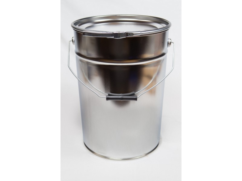 METAL bucket with lid 20 l