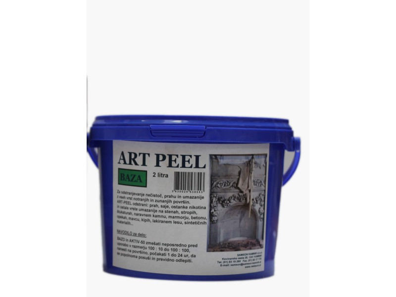 ART PEEL BASE Natural rubber based cleaning system 2l