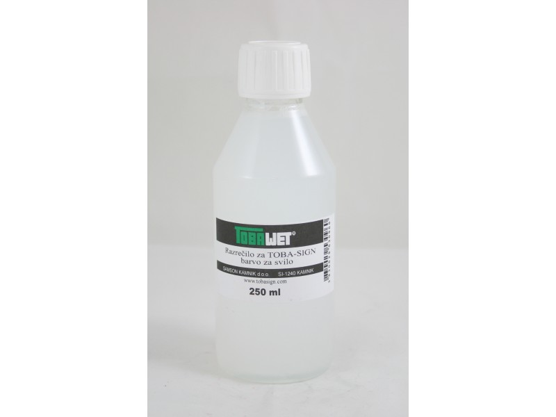 TOBA WET thinner 250 ml